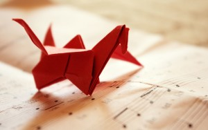 origami-bird-music-paper-hd-wallpaper